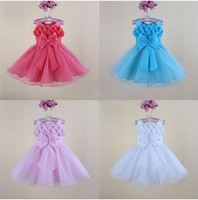 2014 new girls tutu dress little princess party dress kid clothes for 3-8years
