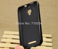 Ultra-Slim Skin Soft TPU Leather Back Cover Case For Alcatel One Touch Snap 7025D, Free Shipping
