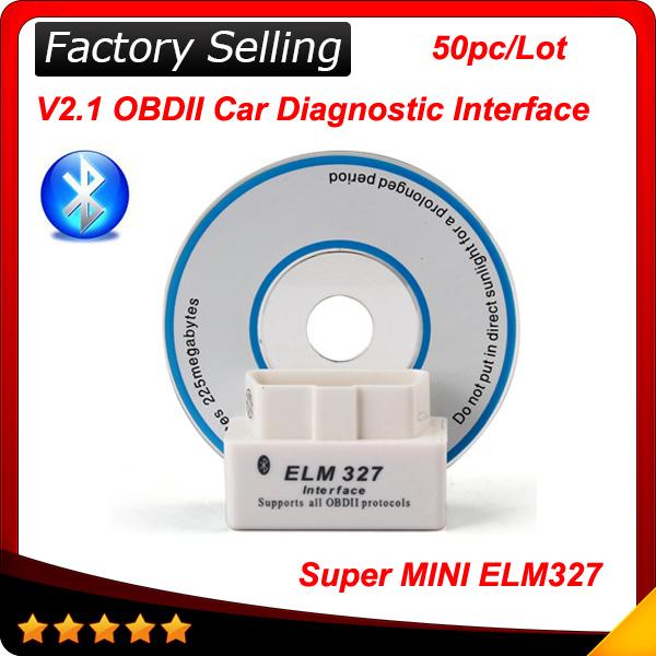 Оборудование для диагностики авто и мото ELM family 2015 327 Bluetooth OBD II v2.1 Android ELM327
