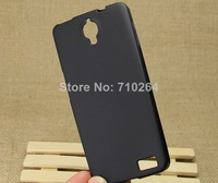 10Pcs/lot, Ultra-Slim Skin Soft TPU Leather Back Cover Case For Alcatel One Touch Idol X 6040D, Free Shipping