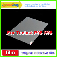 New 2014 5pcs for Teclast P98 3g X98 3g quard Core 235.5*177.5mm clear screen protector 9.7inch protective film for tablets