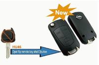 BRAND NEW Replacement Shell Modified Flip Folding Key Shell Case FOB 3 Button for Opel Corsa Astra Kadett Monza Montana