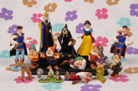 A SET  13pcs  lovely snow white /princess/ witch/ Prince /dwarfs