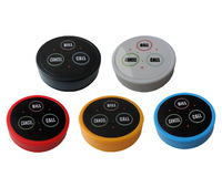 K-D3 waiter call button wireless restaurant call button Any LOGO any language accept 5 color