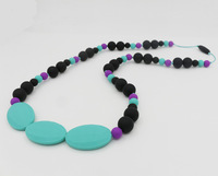 Free Shipping -Silicone Teething Necklace Jewellery Charlotte necklace fashion necklace