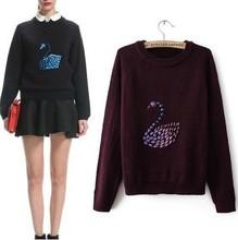 wholesale swan sweater