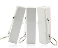20pcs/lot 2600mAh perfume mini Power Bank universal USB External Backup Battery for iPhone Mobile power samsung with retail box