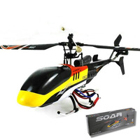 DH 6038 single blade Remote control helicopter with 2.4G LCD transmitter rc airplane quadrocopter free shipping hot selling