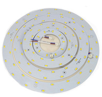 5W 12W 15W 18W LED Ring Panel Circle Light AC180-265V SMD 5730 LED Round Ceiling board circular lamp board Free shipping 1626