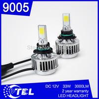 Hot Sale 2pcs/lot G3 9005 Car LED Headlight Kits 2400Lm CREE Chip LED Bulbs Globe White LED Car Fog Light Lamp
