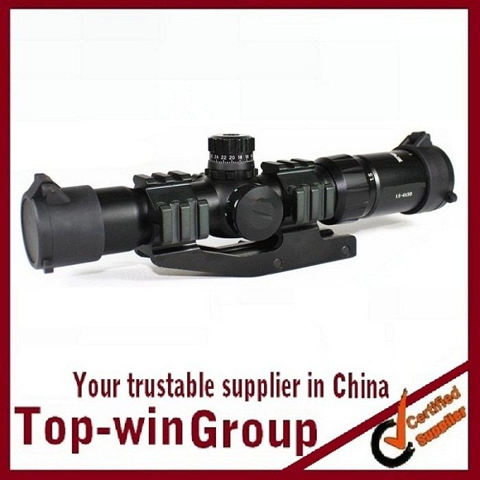 цена на Винтовочный оптический прицел Topwin 1,5/4 x 30 airsoft.gun 1.5-4x30