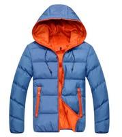 Free shipping! 2014 Fashion Men's Autumn & winter warmth hooded down jacket Men sports cotton-padded coat man clothes,M-XXXL