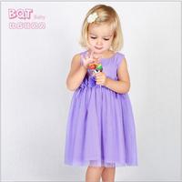 Infants and young children's clothing summer new baby flowers gauze dress princess dress children dress original single 5pcs/lot