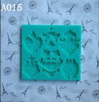 Food Grade Silicone  Flower lace mold cake mold silicone baking tools kitchen accessories decorations Fondant A015