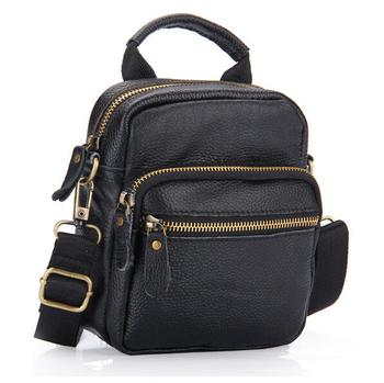 2014 Натуральная кожа Men Messenger Bags Men Crossbody Bags Natural Leather Special ...