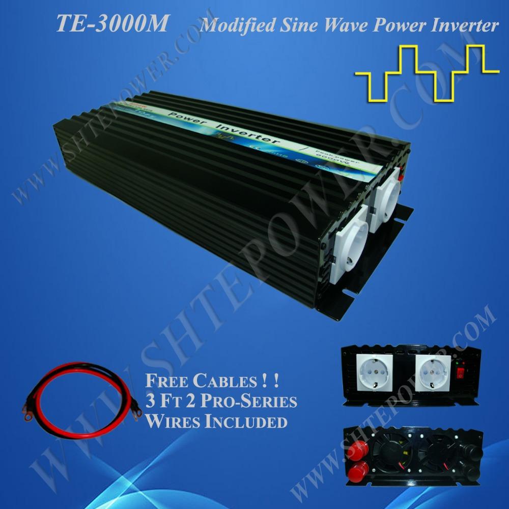 3KW Wind Solar Hybrid Inverter for Off Grid System 12V/24V 110V/120V/220V/230V 3000W(China (Mainland))