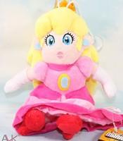 Free Shipping 25cm Mario series PeAKY  sitting  princess  children girl gift