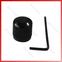 Free Shipping New Black Metal Dome Tone Guitar Bass Control Knob For Fender Tele