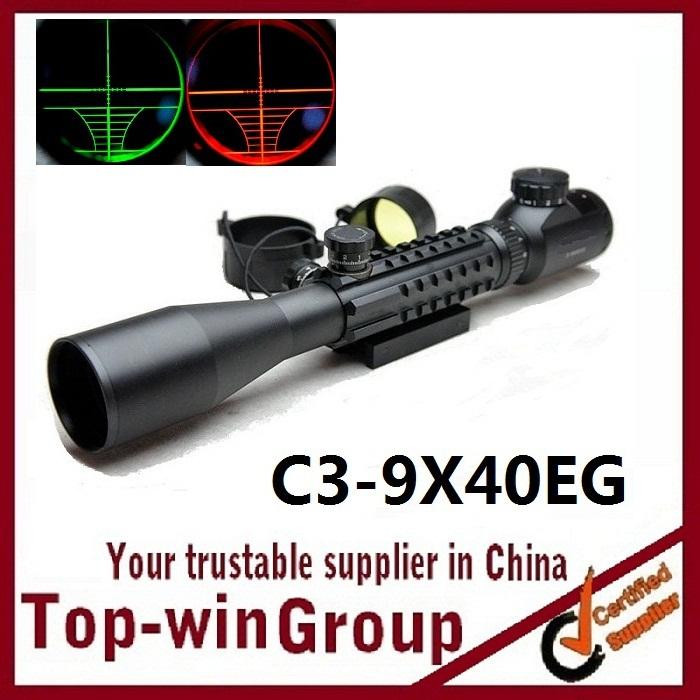цена на Винтовочный оптический прицел Topwin OTTICA TATTICA 3/9 X 40 20 3 SLITTE mil/dot c3-9x40eg