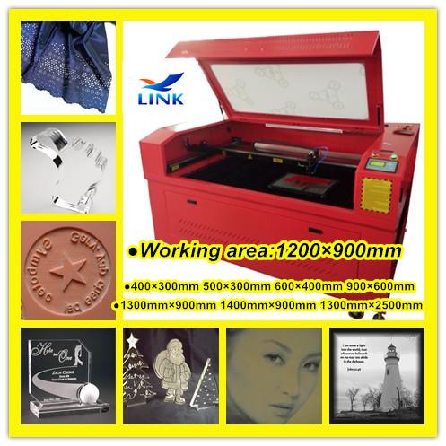 LINK LXJ1290 130 watt Beijing Reci laser cut sheet metal fabrication(China (Mainland))