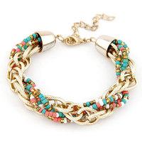 New Fashion Metal Chain Beads Bracelet Bohemia