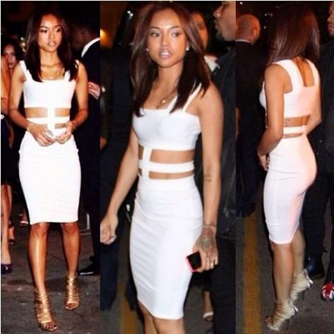 nova 2014 novo design verão mulheres barriga nua partido sexy vestido