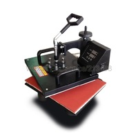 8 In 1 Combo Multifunction Heat Press Machine 110V/220V Heat Thermal Transfer Machine For Plate/Mug/Cap/T-Shirt