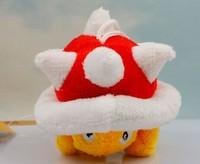 Free Shipping 5cm  plush thorn turtle  Mario plush toys 30peices/lot