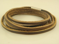 New Stylish Handmade Genuine Leather Wrap Bracelets Leather Jewelry Great Seller High Quality