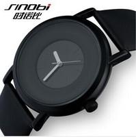 Fashion Sinobi Black Quartz Watches men Luxury Brand New style sinobi HighQuality men and women ports watches