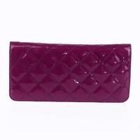 Lady Diamond Clutch Handbag Bag Purse Pouch Wallet Evening Cocktail Party Purple