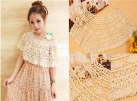 Qiyun Free shipping knitted beige cute sweet summer anti-UV sun protected Coat blouses Robe Plage Strandkleid Kleid Vestido