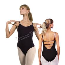 camisole ballet leotard features