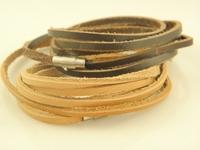 Mens Stylish Handmade Genuine Leather Wrap Bracelets Leather Jewelry Wholesale Stock