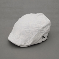 Mix order free shipping - wholesale cheap Hat summer small fresh white lace women's cap beret fashion hat