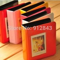 New  arrival 64 Pockets Polaroid photo picture Album Case For fujiFilm Instax Mini Film Size Free shipping