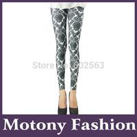 Motony Women's Soho Exotic Floral Pattern Leggings