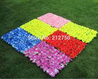 2pcs/lot Artificial green leaf silk rose flower lawn 40cm*60cm artificial grass home garden decoration festive supplies