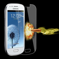 Free Ship Premium Tempered Glass Explosion Proof Screen Protector for Samsung Galaxy s3 mini i8190