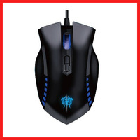 AULA MANUM 2000DPI 7D USB Wired Optical Gaming Mouse Black