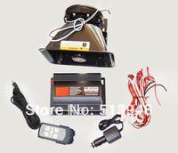 12V 200w Car Emergency Warning Alarm Square Wireless Siren Amplifier Speaker