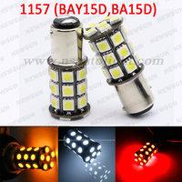 Canbus P21W/5W 1157 BAY15D BA15D 27 SMD 5050 LED Tail Turn Signal Brake Backup Reverse 1157 LED Bulb White Yellow Red 12V