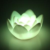 Wishing oversized 12cm lotus Nightlight Nightlight emergency bedside festive decoration