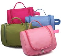 2014 Travel Check Waterproof Storage Cosmetic Bag Picnic Sorting Hanging Wash Bag Korea Multifunctional Organizer Free Shipping