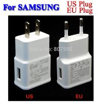 EU/US Plug AC Adapter Travel Wall Charger For Samsung Mobile Smart Phone Tablet Cargador Adaptador