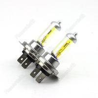 Light Bulbs 3000K 2 Pcs Halogen Xenon H7 12V 55W Golden Yellow Fog