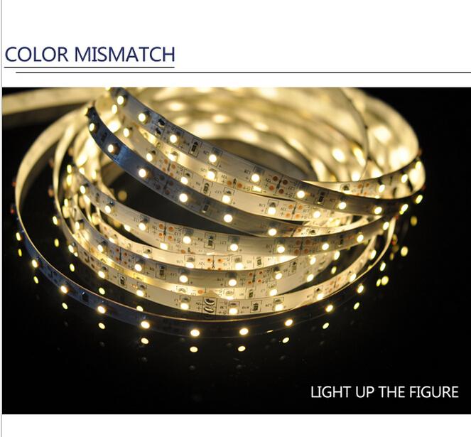 3528 60leds/meter(10M / lot) LED Strip SM D Flexible light 60led/m indoor waterproof warm / white/red/green/blue ledlight strip(China (Mainland))