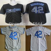 Los Angeles #42 Jackie Robinson adult baseball jerseys throwback mix order free shipping