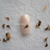 MS-284-2 Free Shipping Metal Gold Pigeon Nail Art Metal Sticker Nail Art Decoration Fancy Outlooking