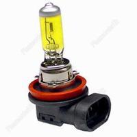 H11 Head Light Bulb Golden Yellow 55W 3000K for Car Halogen Xenon
